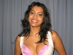 Desi Chick Covered Here Boyfriend&#039,s Load