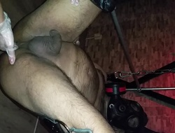 British Indian anal fisting and toys surrounding domina