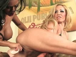 Hot lesbian babes Lexxi and Priya enjoy part6