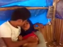 Malay Investor Enjoying Sexual connection With Girlfriend In a Shanty